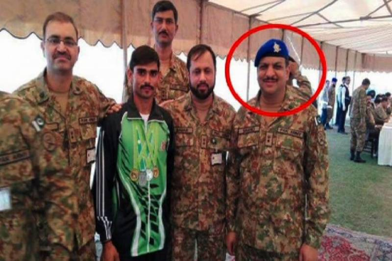 Pak Army Colonel martyred due containers blockade