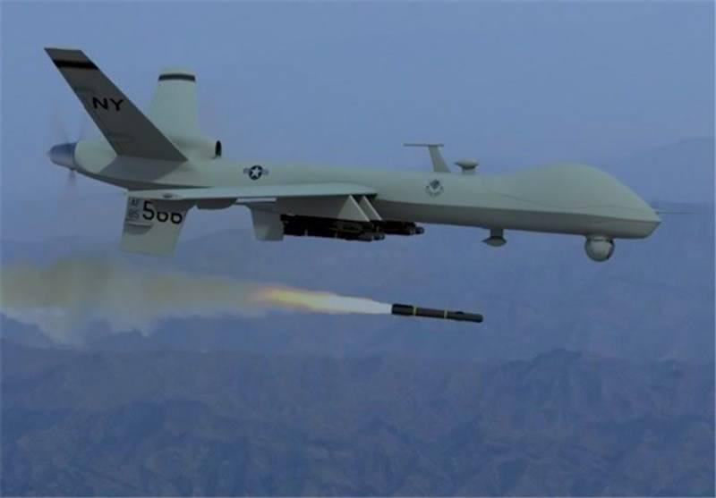 US Drone Strike Near Pak