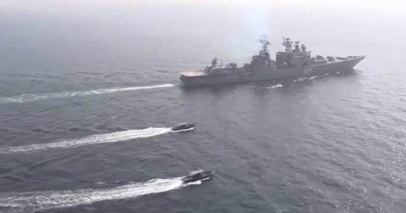 Pakistani, Russian Navies conduct exercises in North Arabian Sea