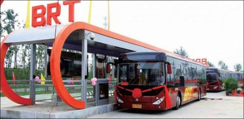 Atleast 20 New Buses Of Bus Rapid Transit Arrived In Peshawar Before Inauguration