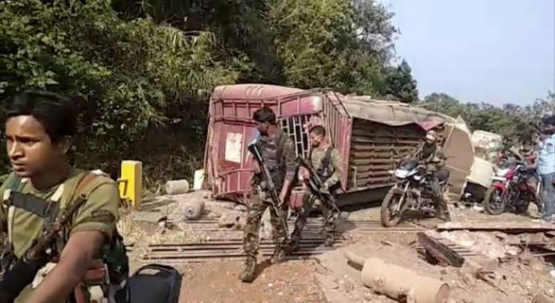 6 Indian soldiers killed, injured in rebels ambush