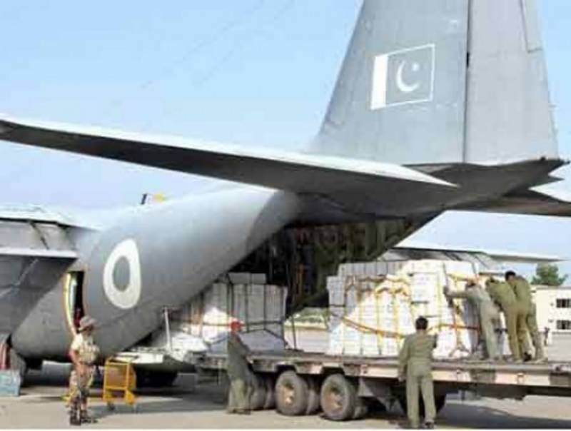 Two PAF C 130 cargo jets arrive in Tehran on special directive of PM Khan