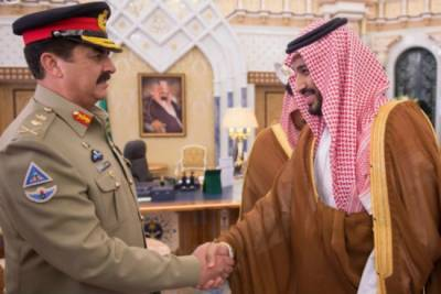 Pakistan Army will strongly react to threats posed upon two holy mosques or sovereignty of Saudi Arabia