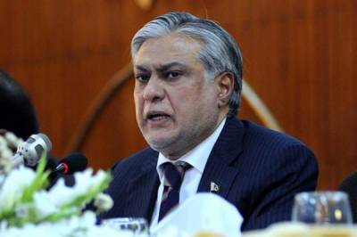 Next general elections in Pakistan would be conducted through Biometric Voting system: Ishaq Dar