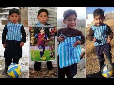 Lionel Messi expresses desire to meet his young Afghani fan