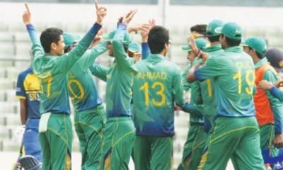 Pakistan beats Sri Lanka by 23 runs in U-19 World Cup
