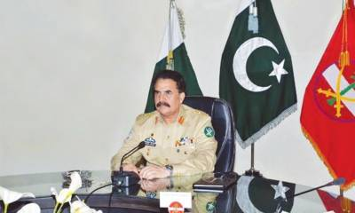 Terrorist in Baluchistan are funded from outside and facilitated from inside: COAS Raheel Sharif