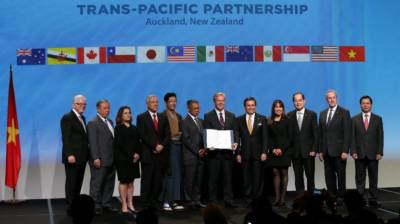 Trans Pacific Partnership deal signed