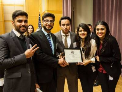 LUMS students win first prize in US state department competition