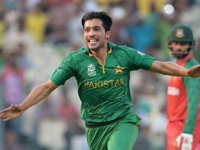 Mohammad Amir becomes first PSL bowler to do Hattrick