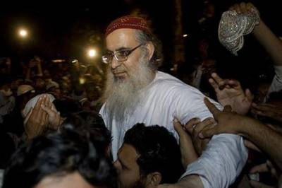 Moulana Abdul Aziz may be booked for uploading video against ISI on his Facebook page