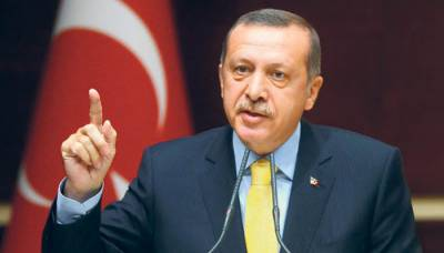 Erdogan lashes out at USA over support to Kurds