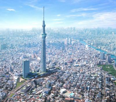 Japan announces to construct world's tallest building Sky Mile tower with a height of 1700 meters