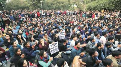 Jawar Lal Nehru University India echoed with pro Pakistan and anti India slogans