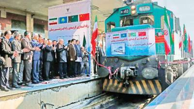 First Train reviving ancient Silk Route between China-Iran arrives at Tehran