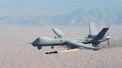 US drone crashes in Kandahar, South Afghanistan