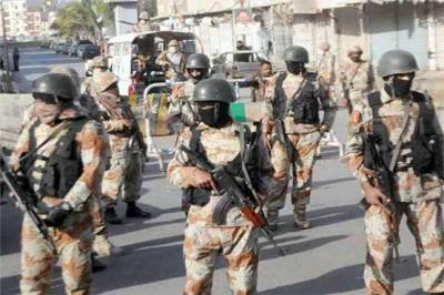 Attack on Rangers Check post in Karachi injures two officials