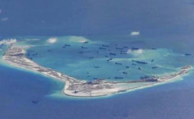 US again raises concern about China's activity in South China Sea