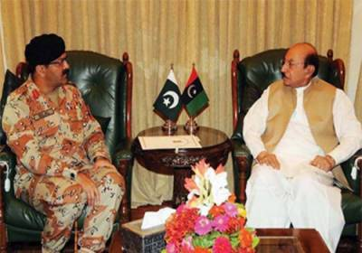 DG Rangers call on Sindh CM and Governor to discuss Law and Order