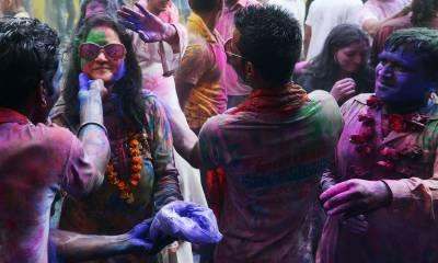 KARACHI: Hindu festival Holi being celebrated across Pakistan