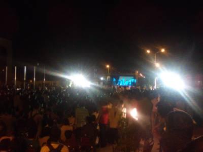 QUETTA: Musical Night held at Akbar Bugti Stadium Quetta on Pakistan Day
