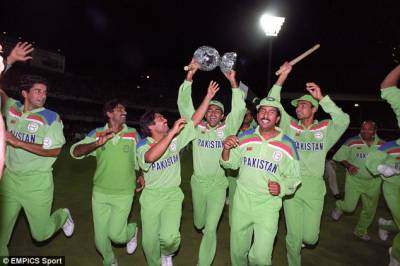 24 years ago on March 25, 1992 Pakistan became cricket World Champion