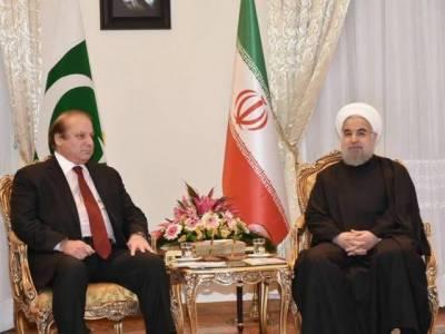 Iranian President Dr. Hasan Rouhani meets PM Nawaz Sharif in Islamabad