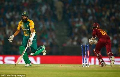 West Indies defeat South Africa to reach in Semifinals