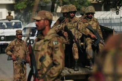 Pak Army 111 Brigade takes over Red Zone Islamabad