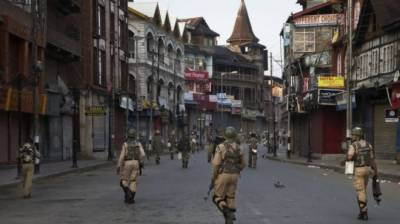 Kashmiris protest in Brussels against Indian PM Modi over human rights violations in Kashmir