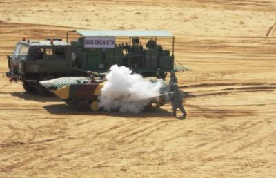 Indian Army conducts massive military exercise along Pak border simulating attack on Pakistan