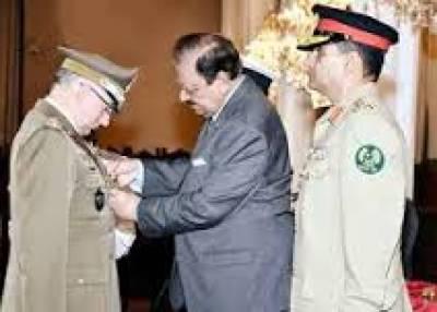 Italian Army Chief calls on President Mamnoon Hussain