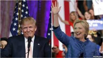 Clinton and Trump clinch more primaries