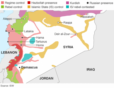 Syria Conflict worsens as political solution geoparadises
