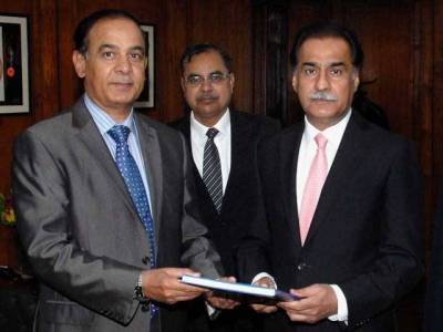 Chairman NAB presents annual performance report to Speaker NA