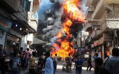 Twin bombing plays havoc in Syria