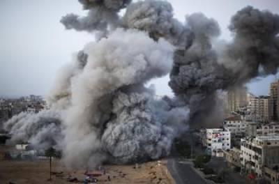 Israeli Air Strikes in Gaza against Hamas