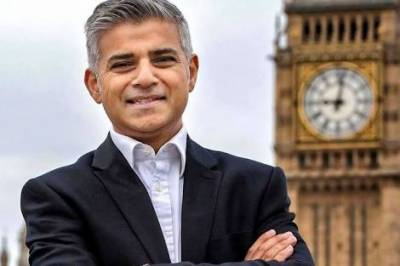 My name is Sadiq Khan and I'm Mayor of London