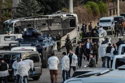 Bomb Blast in Turkey's Diyarbakir region