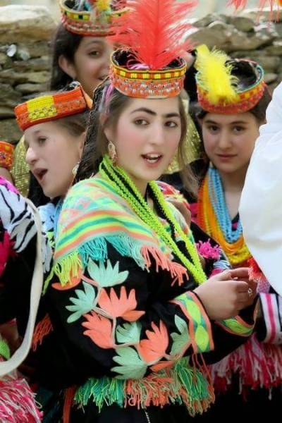 Chilimjust festival kicks off in Kalash Valley amongst colours
