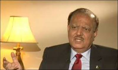 Corrupt people should be thrown out of Pakistan: President Mamnoon