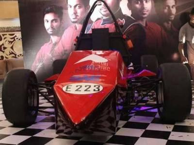 Pakistani students design first formula electric car