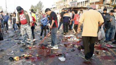 Yet another Black Day in Baghdad marred with suicide blast and chaos