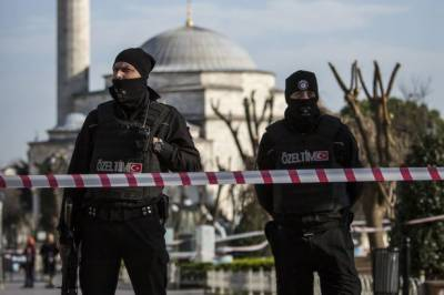 ISIS suicide blast during Turkish Police search ops
