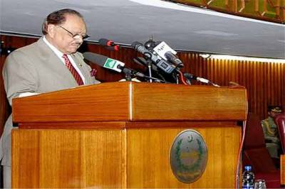 President Mamnoon to address joint session of Parliament