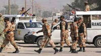 Pakistan Rangers Sindh intensify operation against outlaws
