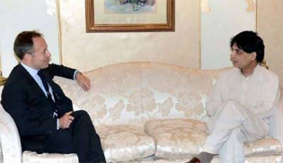 British High Commissioner discusses bilateral security issues with Interior Minister