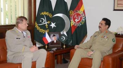 Czech Chief of General Staff discusses bilateral security with COAS