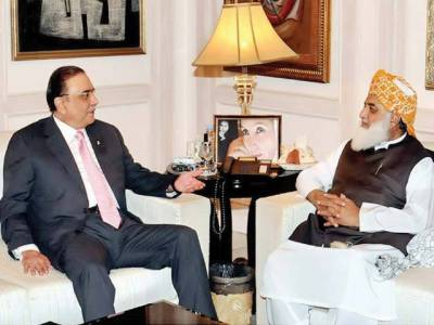 Fazal ur Rehman convinces Asif Zardari for PM support