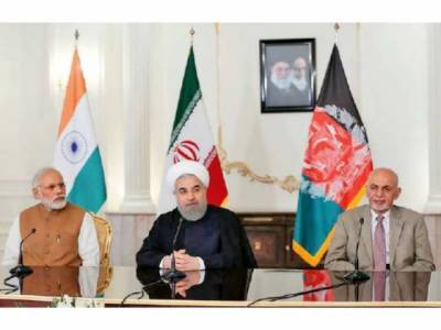 Iran, Afghanistan, India sign three-way transit accord on Chabahar Port